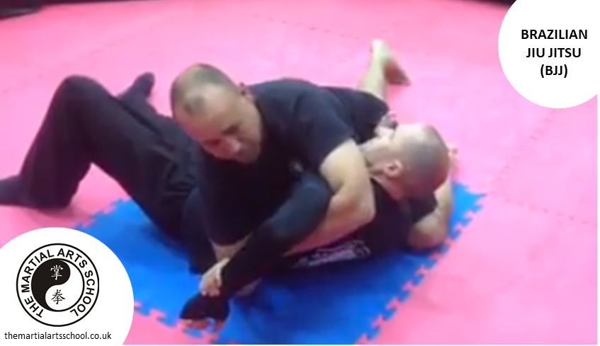 Brazilian Jiu Jitsu No-Gi Grappling training technique
