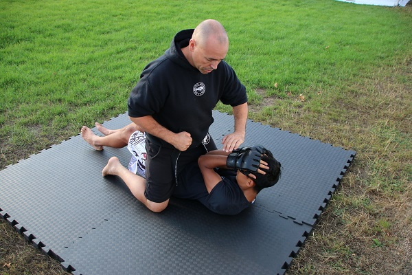 Mixed Martial Arts  - Pinning