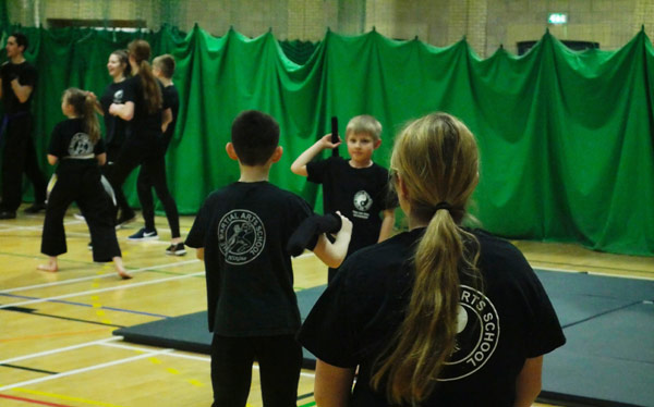 Kick Boxing Junior group sessions for age relevant training